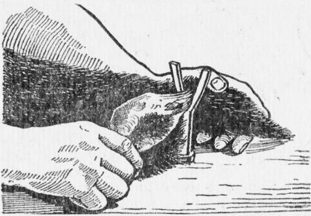 Рогатка лоя выдергивания стержня из хвоста