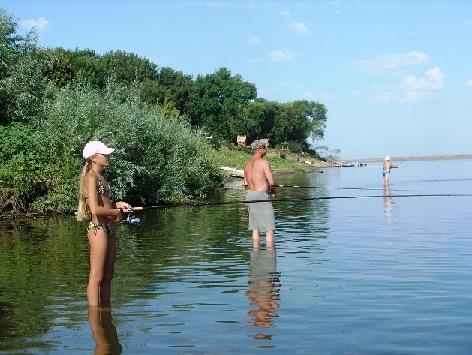 Рыбалка летом