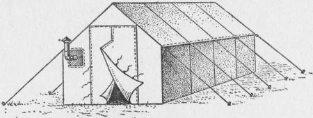 Промысловая палатка