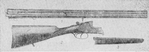 Составные части ружья