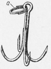 Якорь (а-проволочное ружинное заводное кольцо)