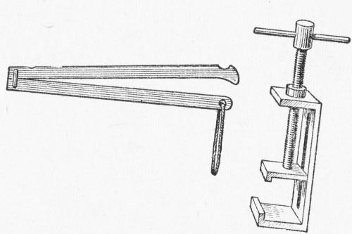 Винтовой ключ и жом