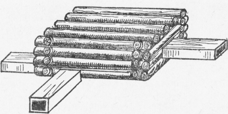 Сруб на соболя