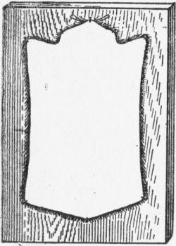 Форма правки шкурок мелких грызунов