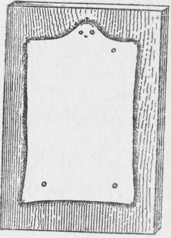 Форма правки шкурок крота