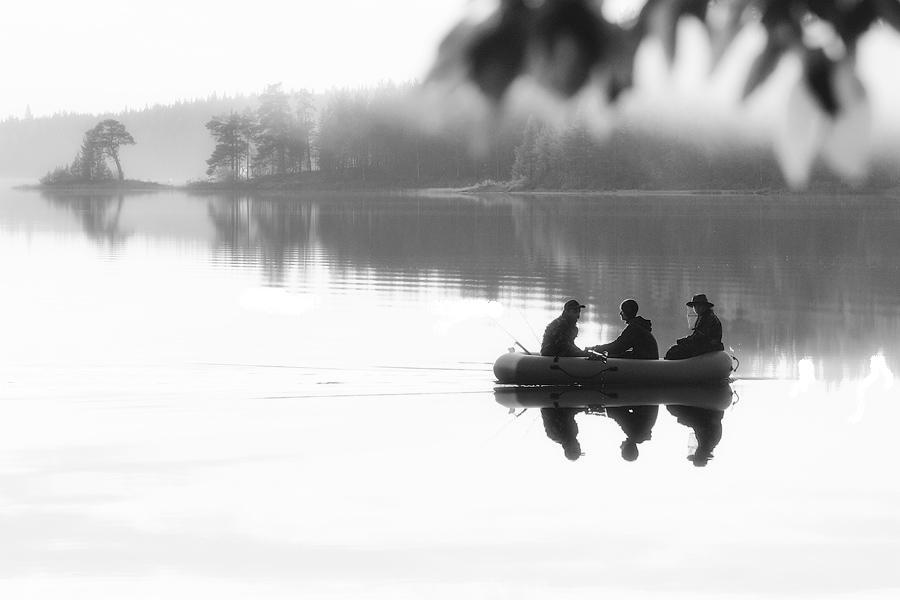 Трое в лодке
