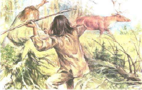 Зарождение охоты
