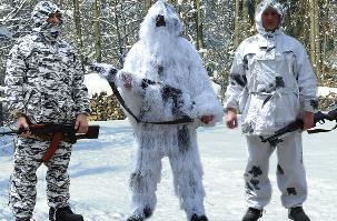 Зимняя маскировка